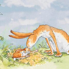 I love You Right Up To The Moon AJ9303 by Anita Jeram