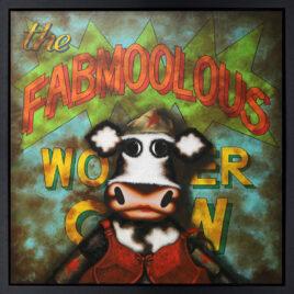 Fabmoolous Wonder Cow by Caroline Shotton