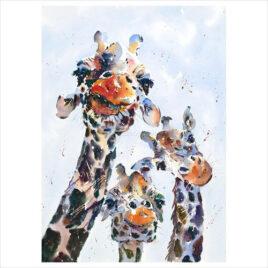 ello ello ello, by Jake Winkle, three giraffes