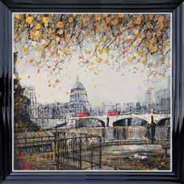 Queens Walk, Original, St Pauls, by artist Nigel Cooke
