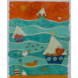 Ocean Waters By Helen Rhodes X