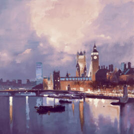 River Lights I By Peter Wileman