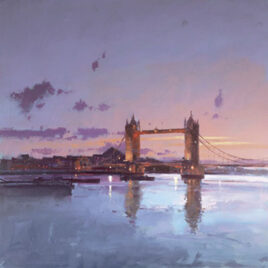 River Lights II By Peter Wileman