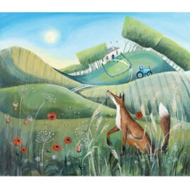 Fox in the Meadow, by Carolyn Pavey