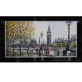 Big Ben, by Nigel Cooke,