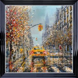 Downtown Manhattan, by Nigel Cooke