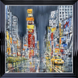 Times Square, Rush Hour by Nigel Cooke