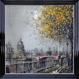 Along the Bank, by Nigel Cooke