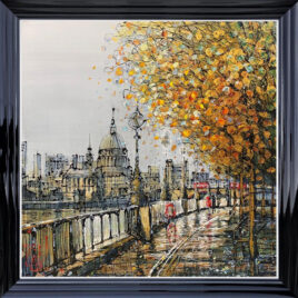 The Queens Walk, by Nigel Cooke