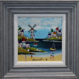 Harbour Fun II, by Rozanne Bell
