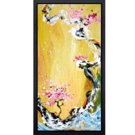 Trilogy of Wonder I, yellow, by Akiyama