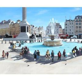 Trafalgar Square II, by Jo Quigley
