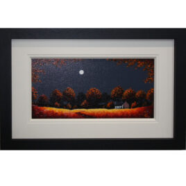 Moonlit Trees, by John Russell