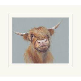 Brodie, by Nicky Litchfield, highland cow