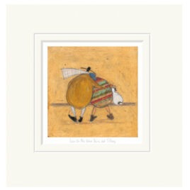 Lean on me, You're not strong, by Sam Toft